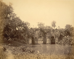 Dacca or bridge on Mayurpanklin canal, Sonargaon (?)
